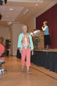 Fashion show at Ladies Luncheon